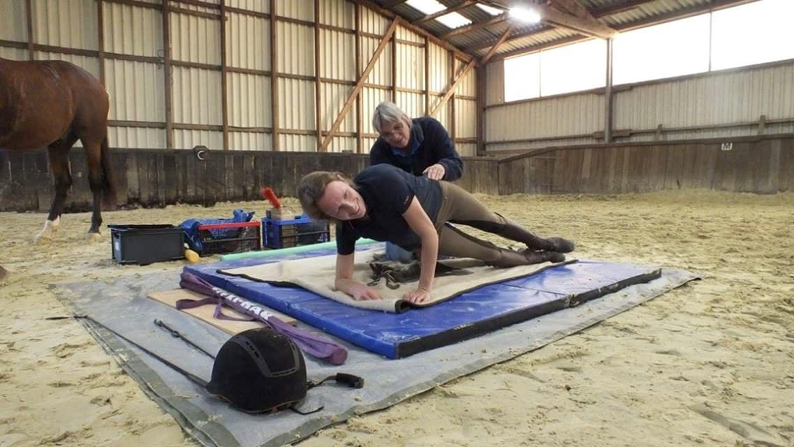 Dressur- und Bewegungstrainingskurs mit Christiane Daniel